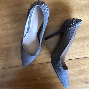Zara Trafaluc Studded Heels 41